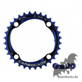 Carbocage Chain Ring Set 32t