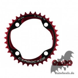Carbocage Chain Ring Set 34t