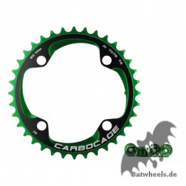 Carbocage Chain Ring Set 36t