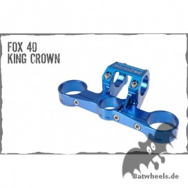 Chunked Fox 40 King Crown