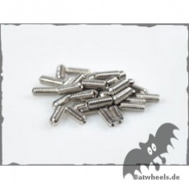 Chunked  Stainless Grub Screws  M4x10 Edelstahl Pedalpins